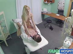 Fake hospital hot blonde gets the full doctors treatment movies at freekilomovies.com