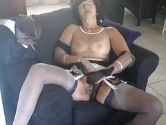 Christina layerd stockings and cum movies at find-best-panties.com