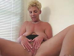 Dutch mature horny housewife masturbating videos