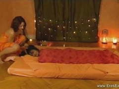 Relaxing and erotic tantra massage by two gorgeous women movies at kilogirls.com