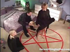 Satanic cult ends up being a hardcore boning session movies at kilogirls.com