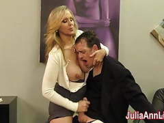 Julia ann milks stepson before his date! movies at freelingerie.us