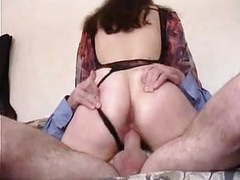 French hairy brunette for  first anal videos