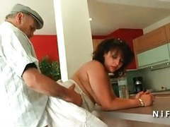 Young french arab bbw fucked by an old man tubes