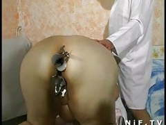 Fat french mature anal fisted sodomized and facialized videos
