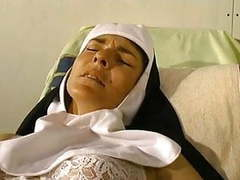 Nun fisted & fucked in hospital movies at lingerie-mania.com