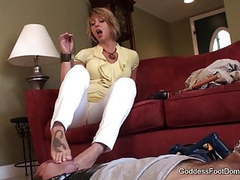 Goddess foot domination september copulation 1 videos