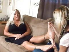 2 girls sexy footjob movies at dailyadult.info