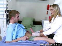 Busty doctor makes her patient to cum movies at kilopics.net