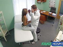 Fakehospital spying on hot young babe having special time movies at kilosex.com