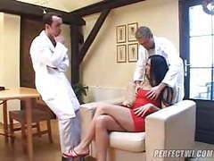 2 doctors with a stupid mature woman movies at freekilomovies.com