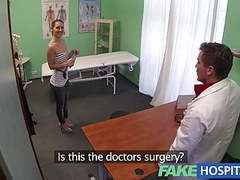 Fakehospital sexy british patient swallows doctors advice movies at find-best-ass.com