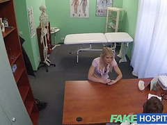 Fakehospital super sexy curvy blonde accepts dirty doctor movies at sgirls.net