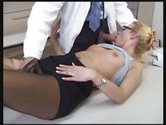 Stocking lover doctor movies at kilogirls.com