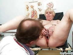 Chubby blond mom hairy pussy doctor exam movies