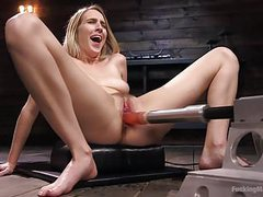 Blonde girl next store cadence lux squirts from fucking mach videos