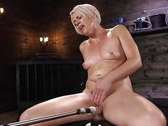 Fit blonde milf has mind blowing orgasms movies at freekilomovies.com