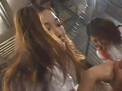 Japanese reverse gangbang orgy in prison movies at kilovideos.com
