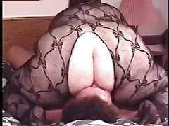Bbw mature fishnet facesitting movies at sgirls.net