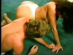 Mixed wrestling facesitting movies at kilovideos.com