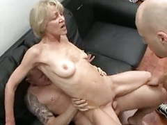 Totally slutty granny loves to take young cocks and jizz ! videos