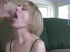 Mature blondie gives great blowjob tubes