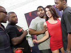 Anal slut tiffany doll loves dp gangbang and big black cock tubes