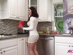 Kendra lust enjoys video games and sex movies