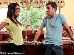 Son has lusty feelings for stepmom movies at kilogirls.com