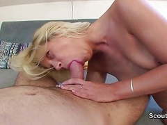 German mom get fucked by young boy when cuckold not home tubes