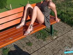 Public creampie extreme risky! blonde german schnuggie91 movies at kilopills.com