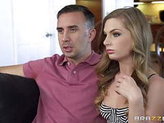 Brazzers - naughty teen sydney cole loves big clip