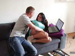 Step-son seduce hot milf stepmom to get first fuck by her movies at kilopics.net