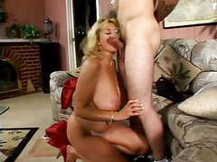 Hot blond milf and young guy movies at kilovideos.com