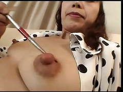 More japanese mature nipple play - cireman movies at kilovideos.com