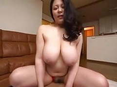 Mother show off loincloth figure...hagi azusa movies at sgirls.net