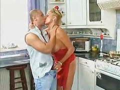 Blonde slutty milf fucked in the kitchen movies at kilopics.net