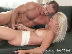 Mom blonde milf gets fucked hard tubes