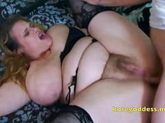 Busty wife with hairy pussy takes it up her ass movies at nastyadult.info