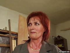 Redhead granny loves anal movies at kilopics.net