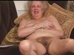Delicious hairy old granny fingering intro videos