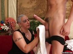 Granny loves big dick videos