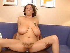 Light skin mature carrying big titties and a hairy pussy tubes