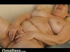 Granny with big boobs masturbating hairy granny pussy movies at freekiloporn.com