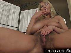 Vanessa sweets has some huge tits and a hairy snatch videos