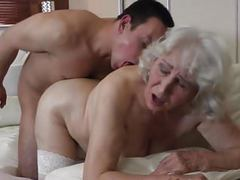 Granny with hairy cunt having sex with boy movies