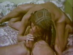 Vintage: classic hippies in group orgy videos