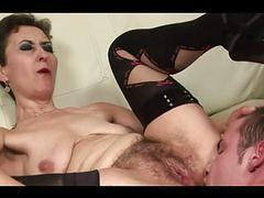 Hairy granny thanks at young boy movies at kilopills.com