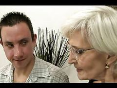 Grey haired granny in stockings fucked movies at freekiloclips.com