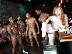 Lauren phillips interracial gangbang tubes